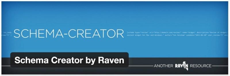 Schema Creator by Raven WordPress plugin