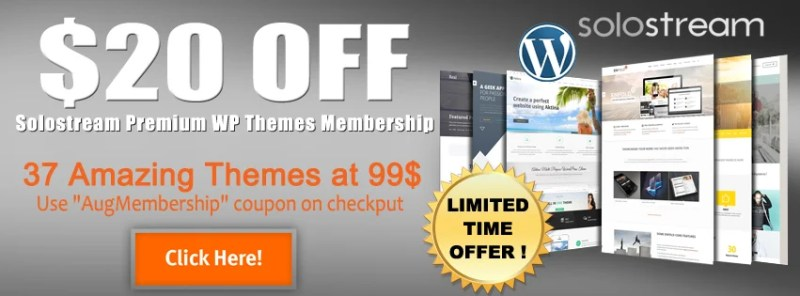SoloStream Membership Plans Discount Coupon