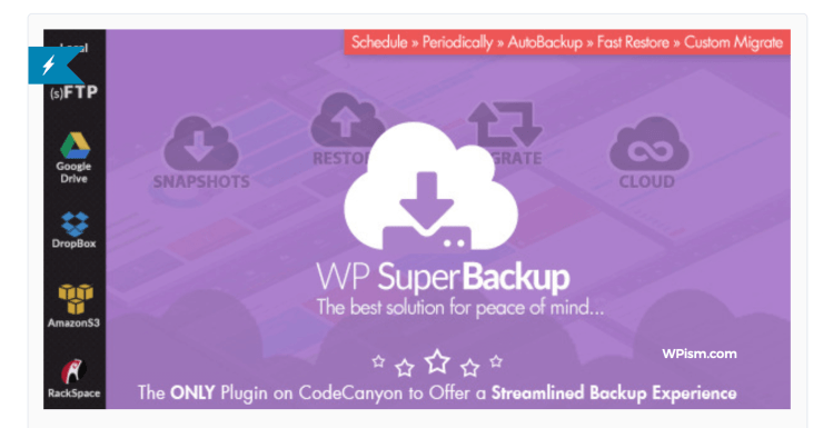 Super Backup Clone Migrate for WordPress Pugin