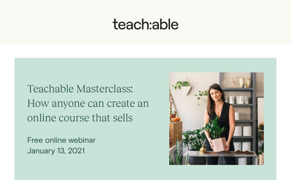 Teachable Masterclass Free 2021