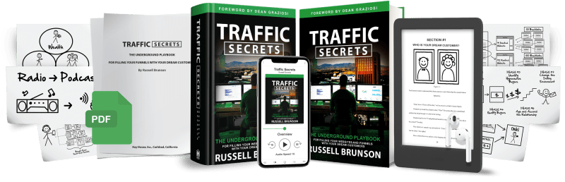 Traffic Secrets Book Free ClickFunnels Deal
