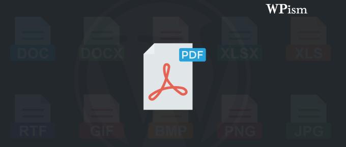 Upload Embed PDF Files WordPress Tips