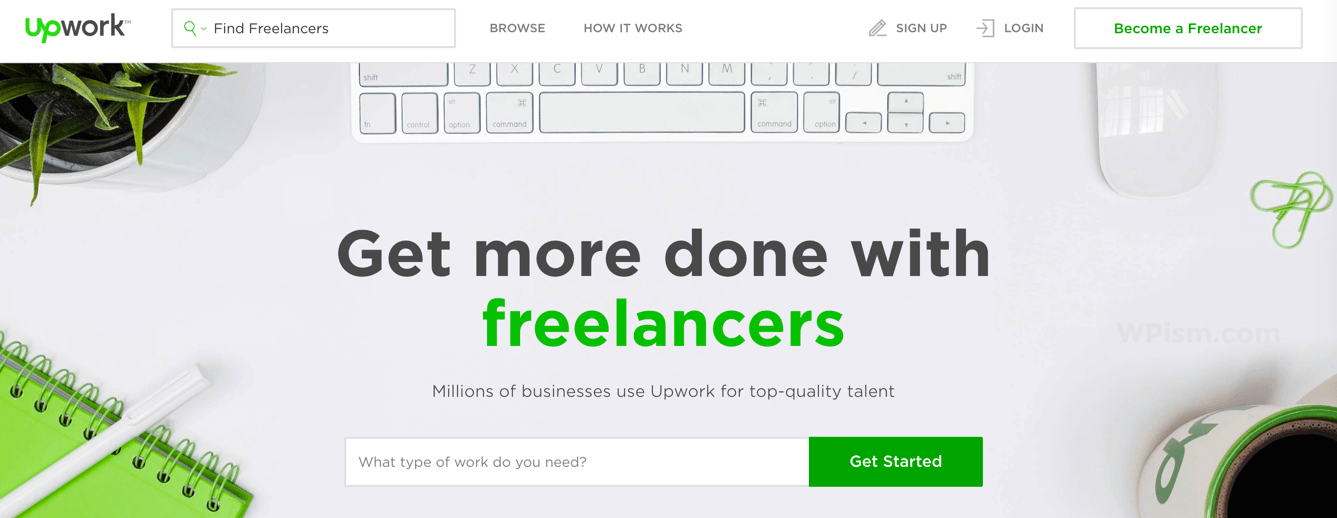 Upwork - Outsource your projects