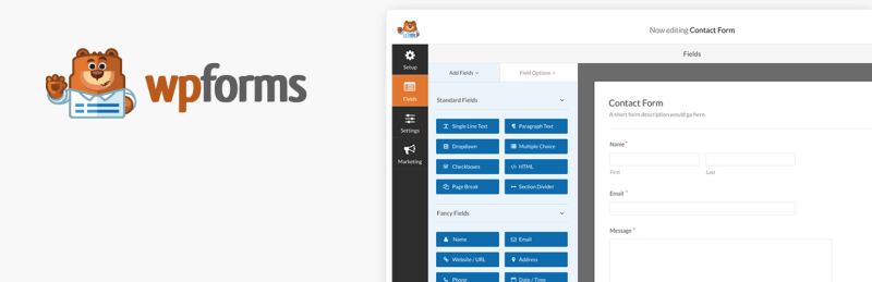 WP Forms WordPress Landing Page Plugin Free Download List
