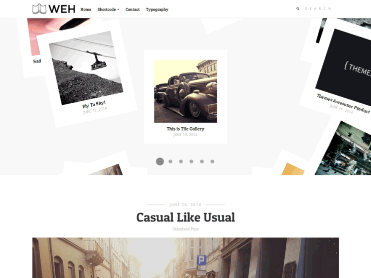 Weh Lite By themesawesome WordPress Theme