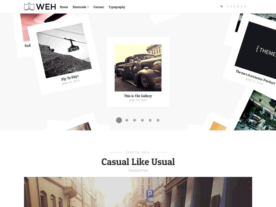 Weh Lite By themesawesome WordPress Theme