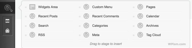 Widgets Area MotoPress Page builder blocks