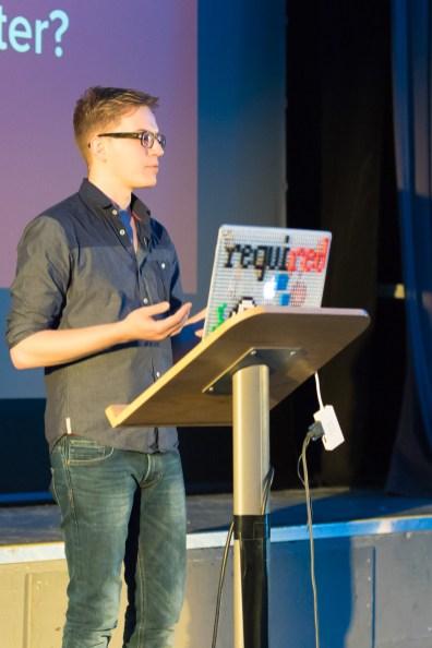 Pascal Birchler at WordCamp London 2016-2768