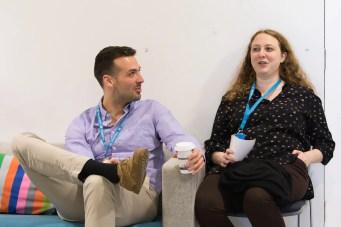 Konstantin Obenland and Siobhan McKeown at WordCamp London 2016-2957