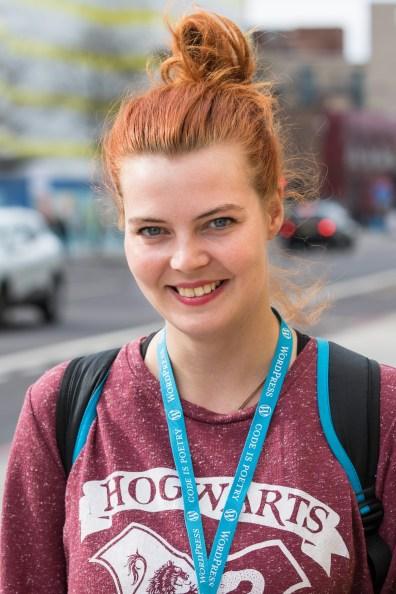Maja Benke at WordCamp London 2016-4551