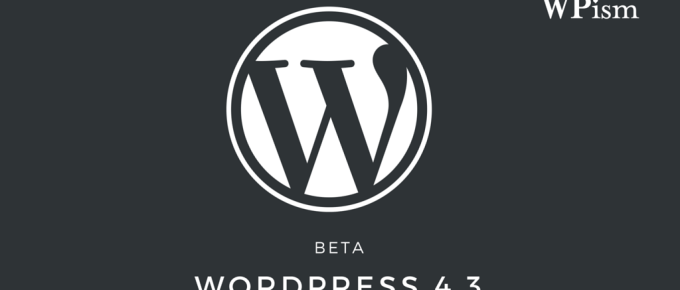 WordPress 4.3 Beta Features