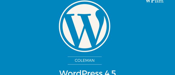 WordPress 4.5 Download Latest Version