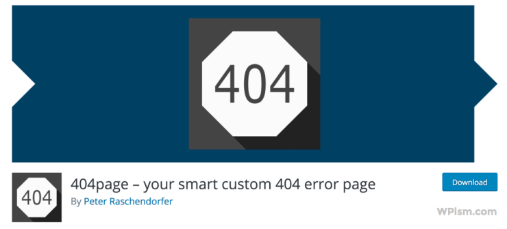 WordPress 404 Smart Custom 404 error page