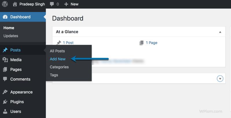 WordPress Add New Post for PDF Files