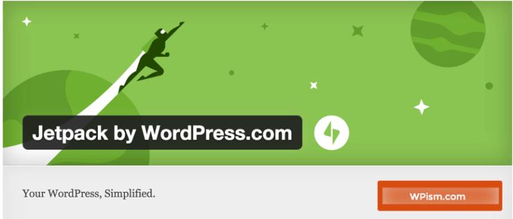 WordPress App Jetpack Plugin Install