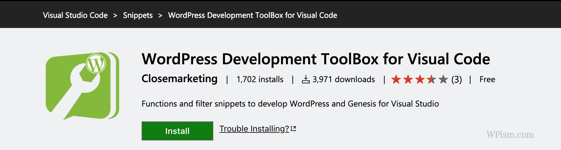 WordPress Development ToolBox for Visual Code