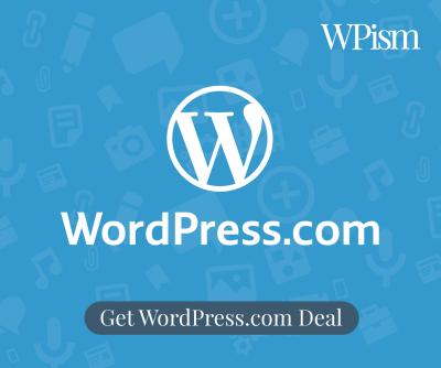 WordPress.com coupon code sidebar
