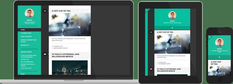 Writr By Automattic WordPress theme Medium