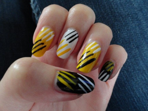 Awesome Yellow Nail Art For S 2017