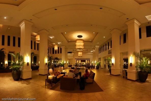 le meridien angkor lobby panorama