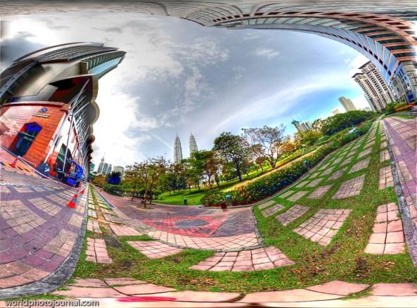 kuala lumpur panorama hdri from traders hotel