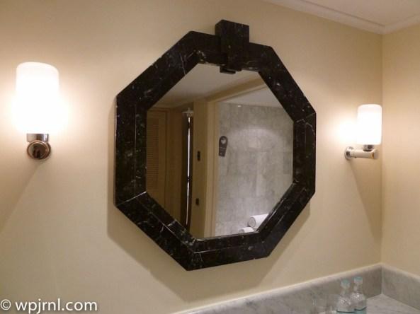 Grand Hyatt Santiago Executive Suite Terrace Bathroom Mirror