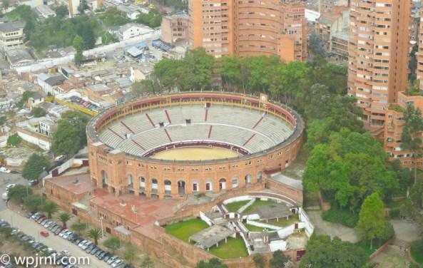 Plaza de Toros Bogota - Aerial View