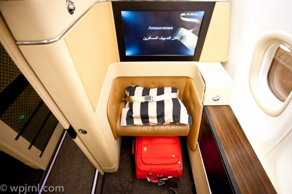 Etihad Airways New York to Abu Dhabi First Class - Single Seat