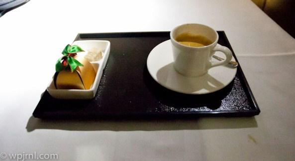 Etihad Airways New York to Abu Dhabi First Class - Espresso