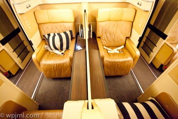 Etihad Airways New York to Abu Dhabi First Class - Double Seats