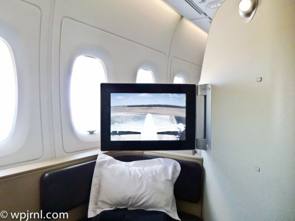 Qantas First Class A380 Melbourne to Los Angeles - QF93 MEL-LAX