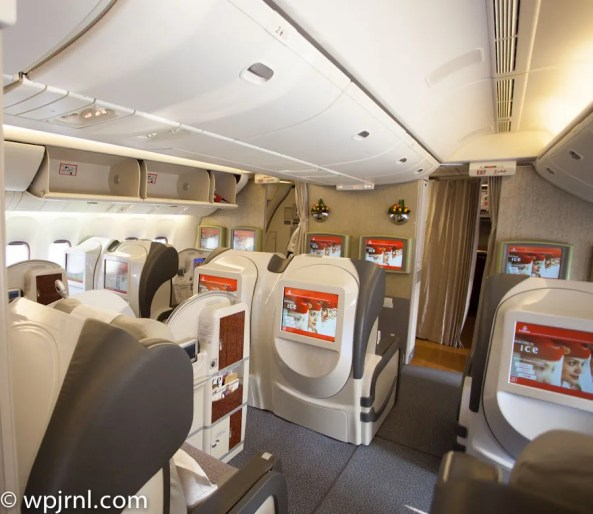 Emirates Boeing 777-200 First Class - Cabin