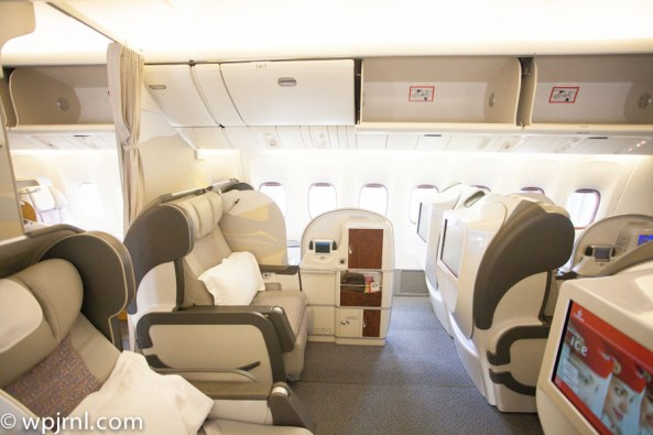 Emirates Boeing 777-200 First Class - First Cabin