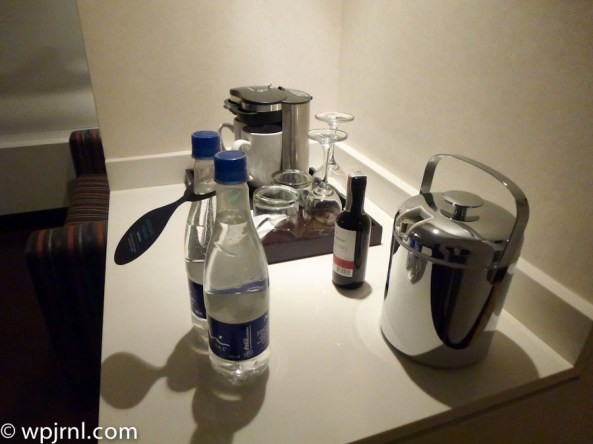 Hilton Bogota Suite - complimentary water