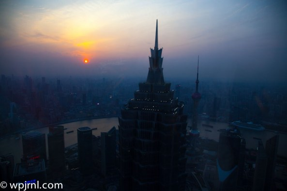 Shanghai Sunset -