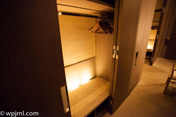 Park Hyatt Shanghai Diplomatic Suite - second closet