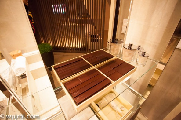 Park Hyatt Shanghai Diplomatic Suite - bathroom amenities