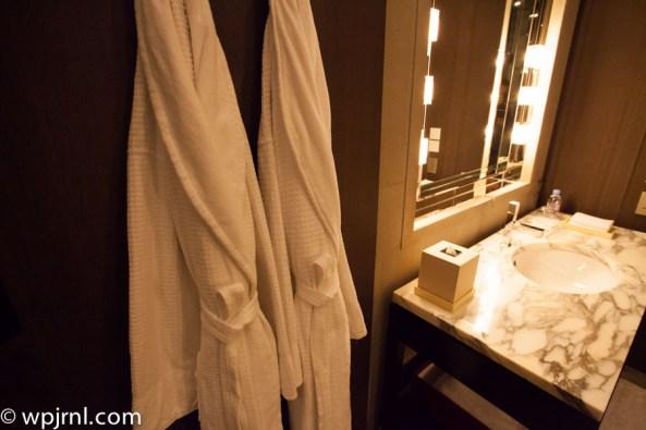 Park Hyatt Shanghai Diplomatic Suite - bath robes