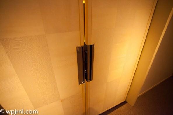 Park Hyatt Shanghai Diplomatic Suite - door to office