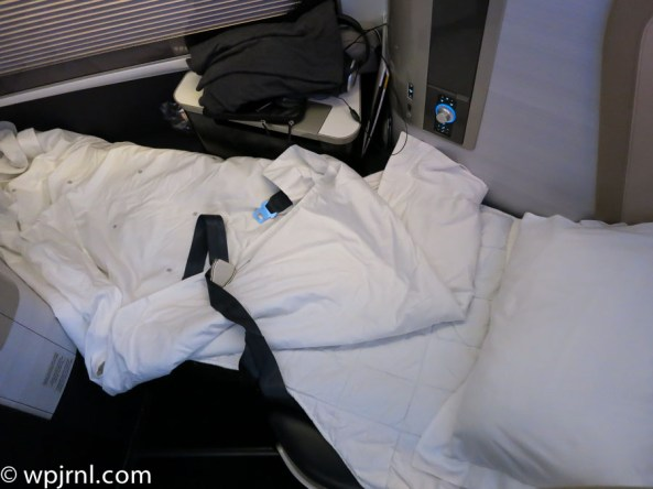 New British Airways First Class London to Miami - Turn Down Service