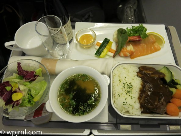 Japan Airlines Tokyo to Seoul Business Class - JAL959 NRT-ICN