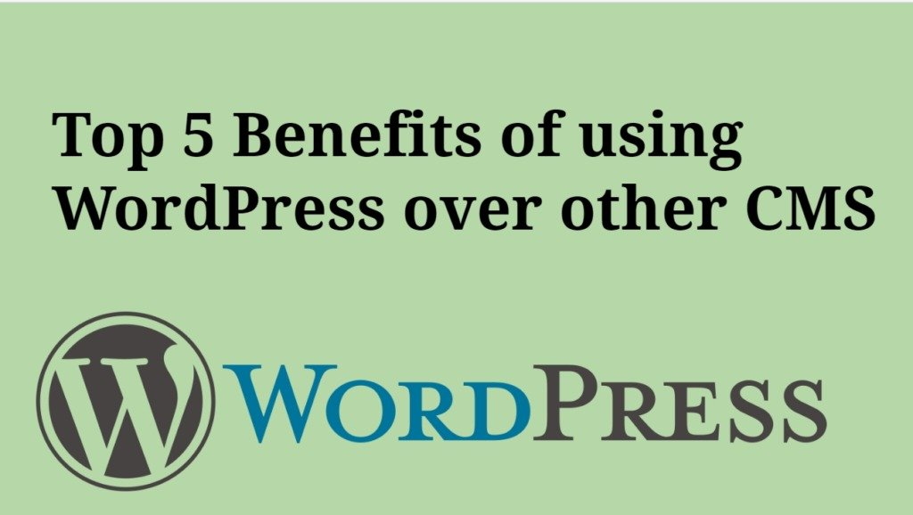 Top 5 Benefits of using WordPress CMS