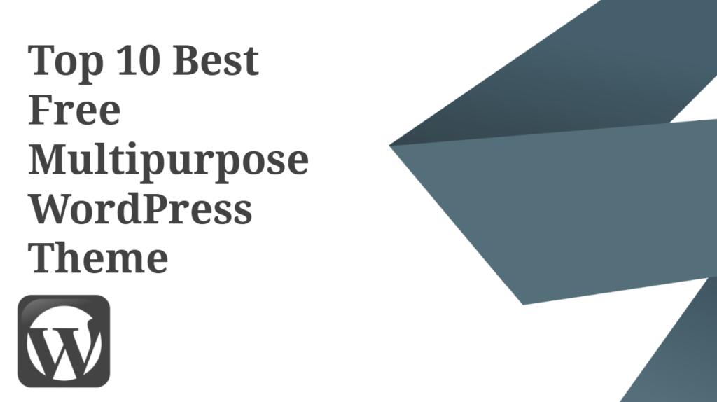 10 Best Free Multipurpose WordPress Themes