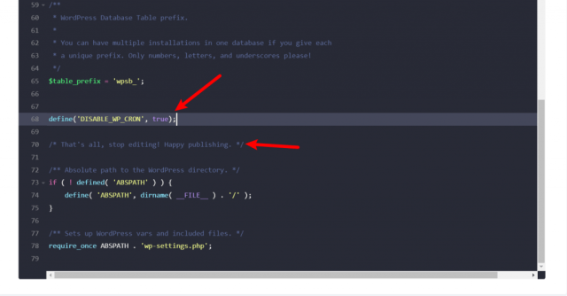 How to disable WP-Cron