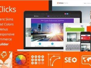 3Clicks - Responsive Multi-Purpose WordPress Theme