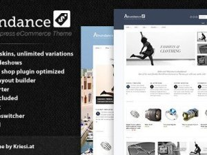 Abundance eCommerce Business Theme