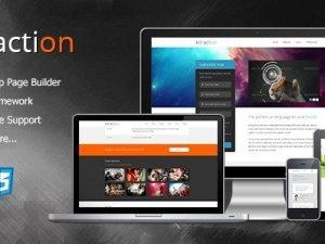 Attraction - Responsive WordPress Landing Page Theme