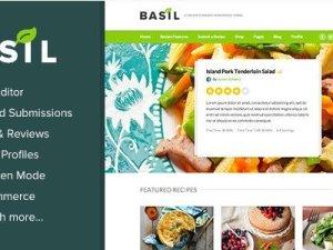 Basil Recipes - A Recipe-Powered WordPress Theme