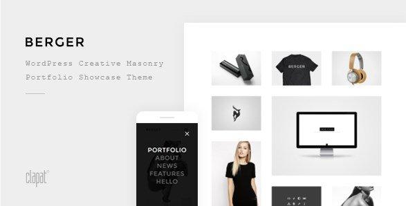 Berger - WordPress Creative Agency Portfolio Theme