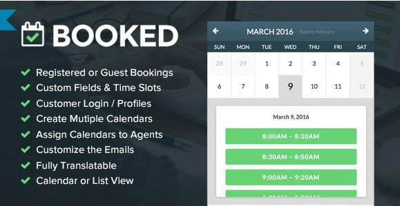 Booked Appointments - Appointment Booking for WordPress